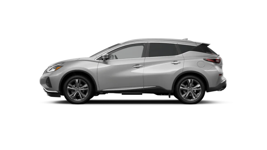 2021 Nissan Murano in brilliant silver metallic