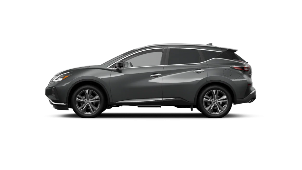 2021 Nissan Murano in gun metallic