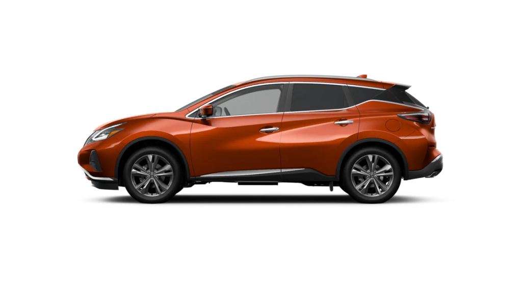 2021 Nissan Murano in sunset drift