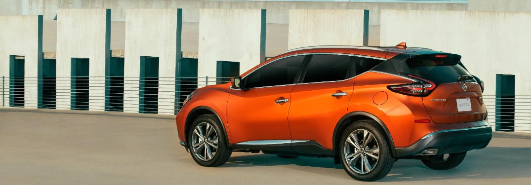 side view of the 2021 Nissan Murano