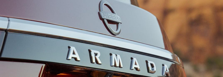 2021 Nissan Armada badging
