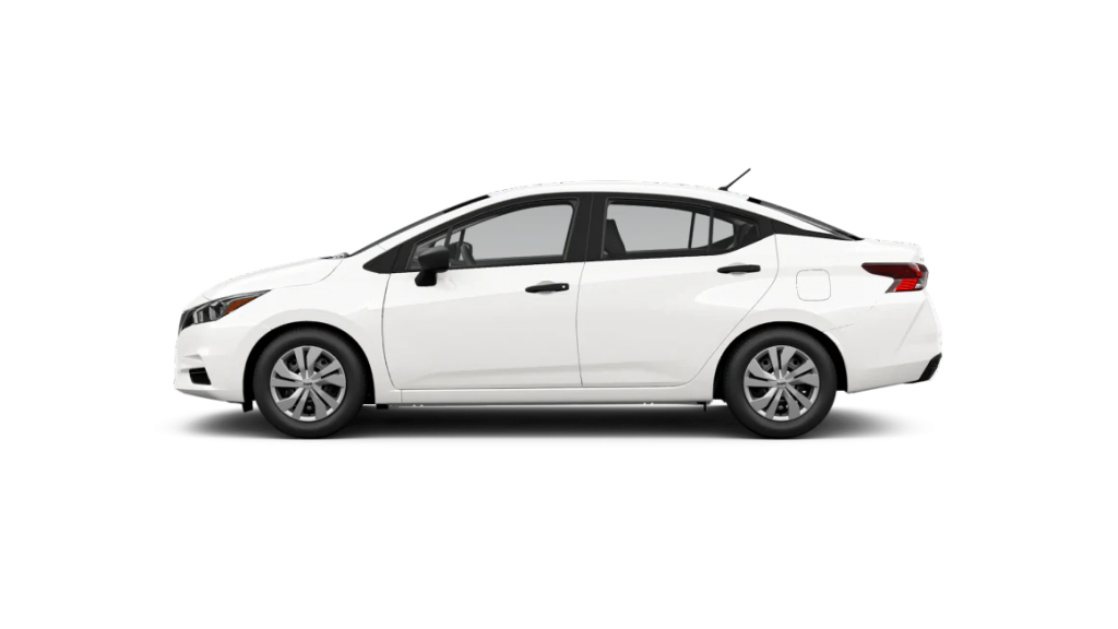2021 Nissan Versa in fresh powder