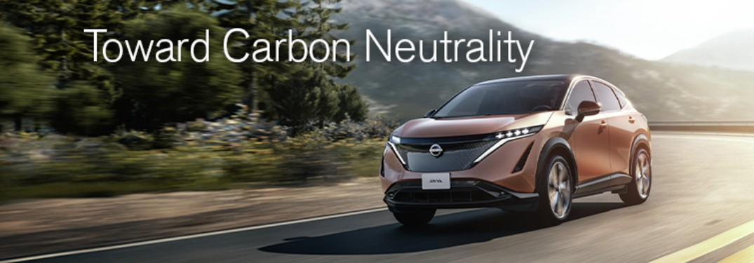 Nissan Carbon Neutrality with the Nissan Ariya