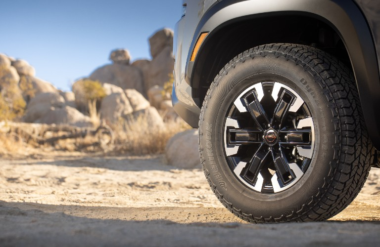 2022 Nissan Frontier tire