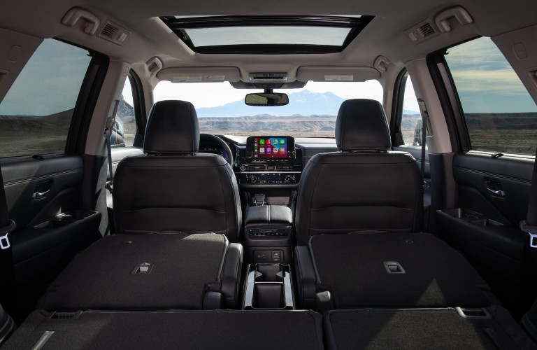 interior of the 2022 Nissan Pathfinder