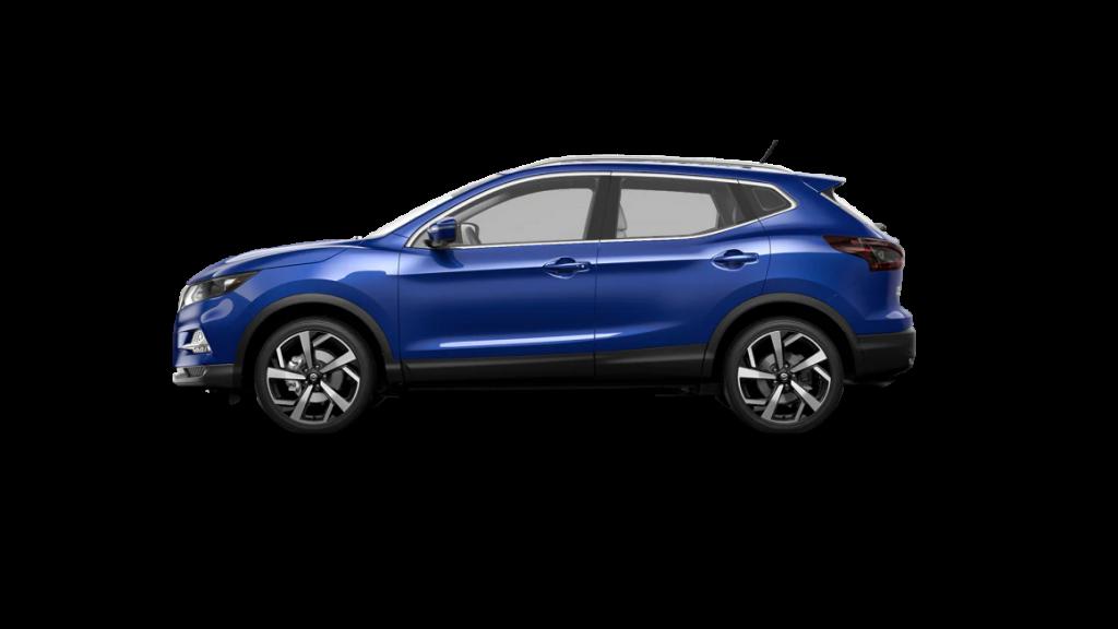 2021 Nissan Rogue Sport in caspian blue metallic