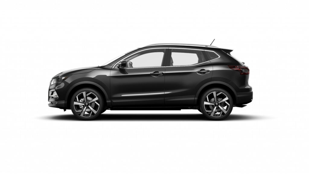 2021 Nissan Rogue Sport in magnetic black pearl