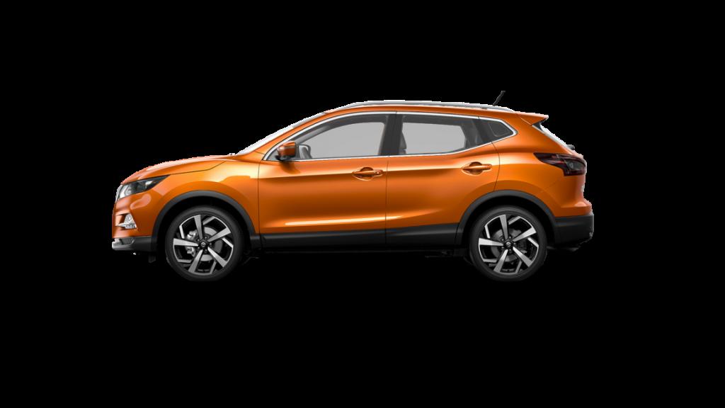 2021 Nissan Rogue Sport in monarch orange metallic