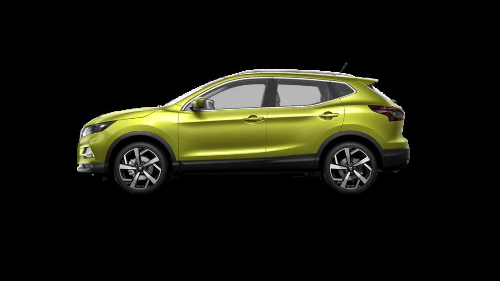 2021 Nissan Rogue Sport in nitro lime metallic
