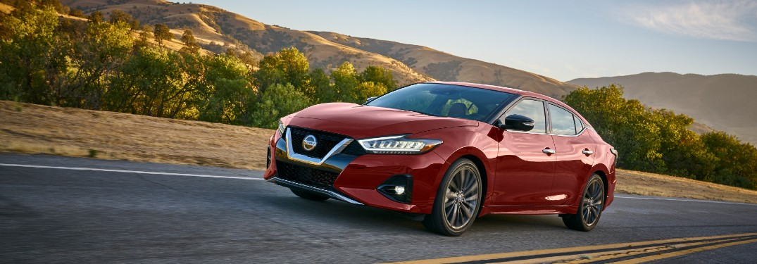 Check out these 2021 Nissan Maxima exterior color options