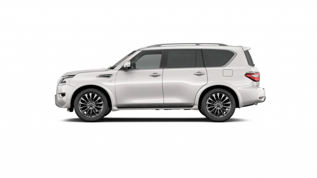 2021 Nissan Armada in aspen white