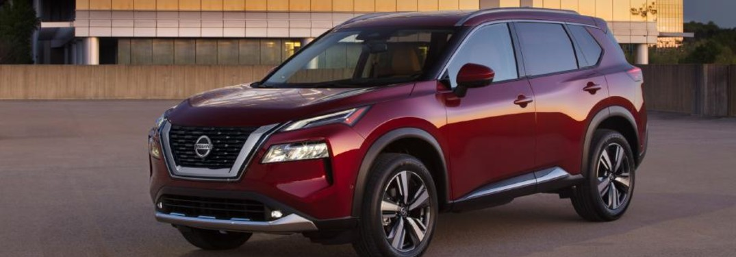 front view of the 2021 Nissan Rogue