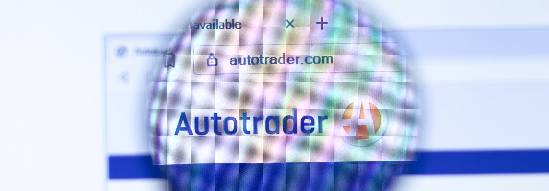 Autotrader webpage
