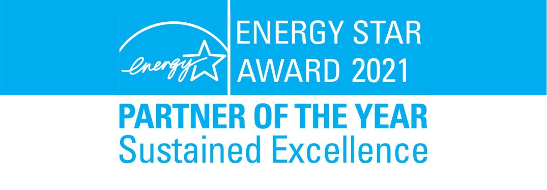 ENERGY STAR® program award banner
