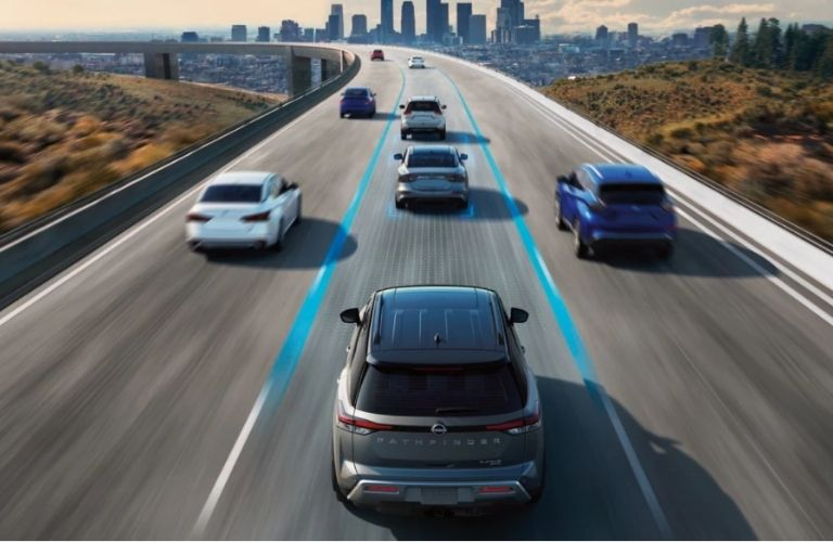 2022 Nissan Pathfinder safety view