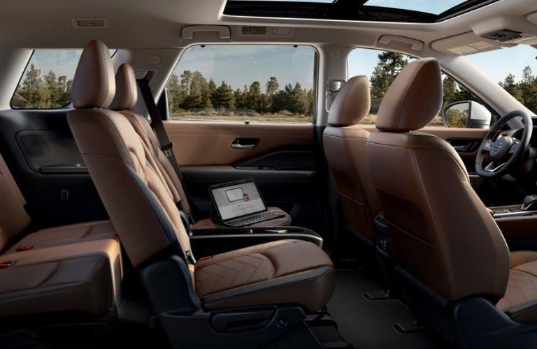 2022 Nissan Pathfinder seats view