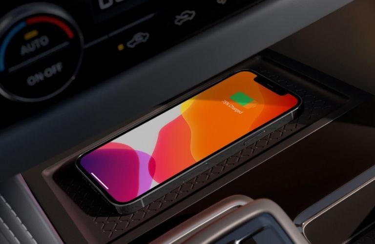 2022 Nissan Pathfinder wireless charging
