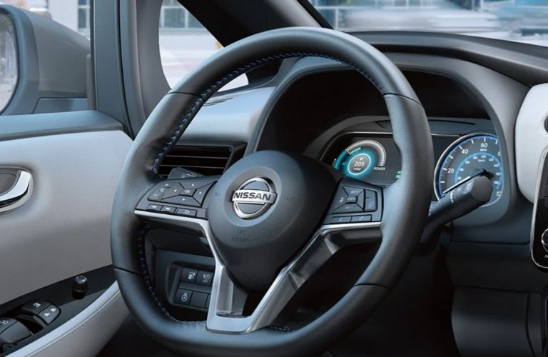 2021 Nissan LEAF wheel view