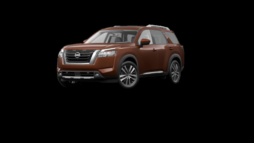 2022 Nissan Pathfinder Mocha Almond Pearl