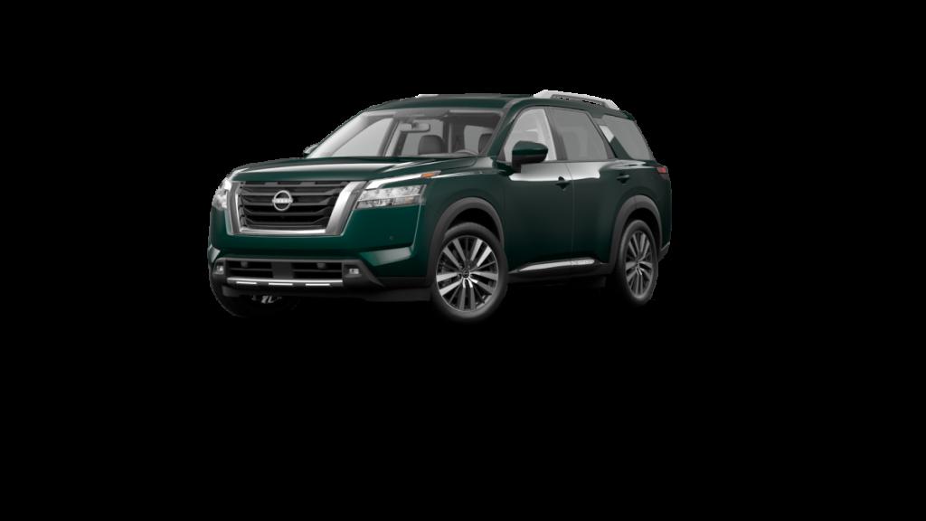 2022 Nissan Pathfinder Obsidian Green Pearl