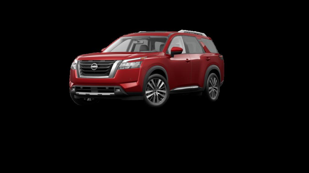 2022 Nissan Pathfinder Scarlet Ember Tintcoat