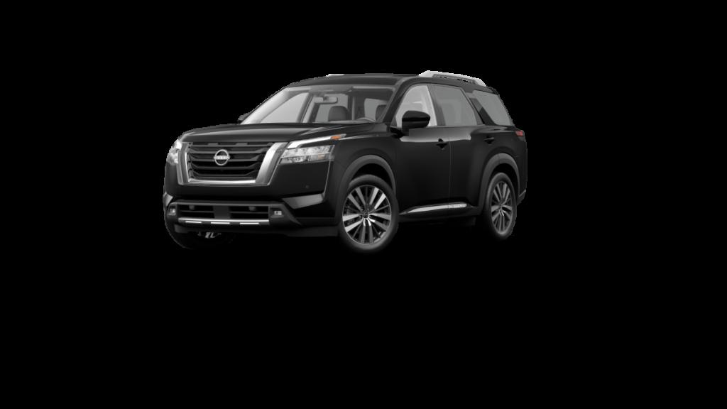 2022 Nissan Pathfinder Super Black