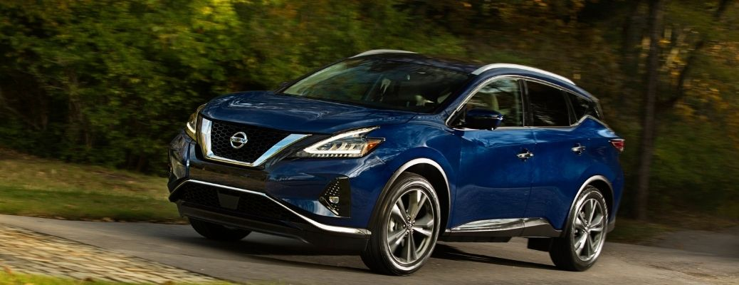 2021 Nissan Murano on the road