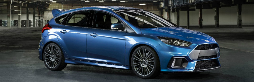 2016 ford focus rs performance specs and u.s. release date