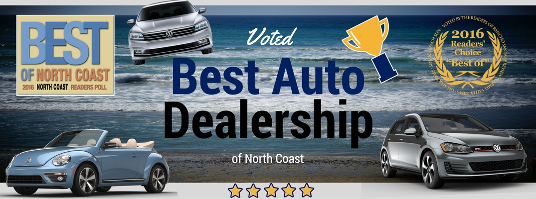 Best Auto Dealership of North Coast 2016