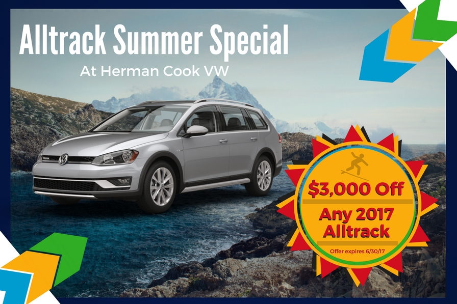 Alltrack Summer Special at Herman Cook VW