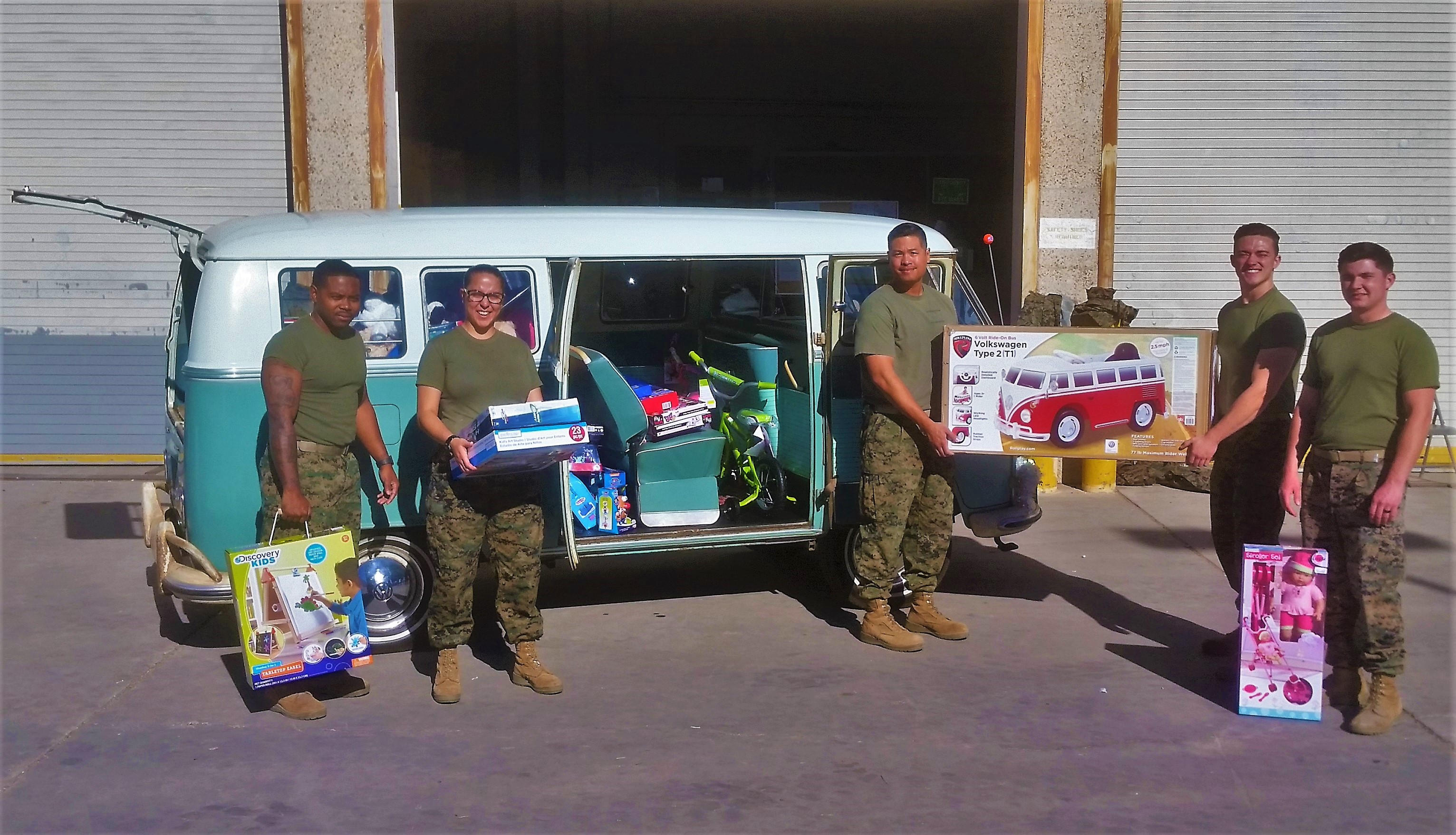 Toys for Tots Marine Corps Reserve Center
