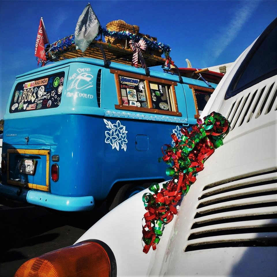 Festive VW's SD Air Cooled Cruise 2017
