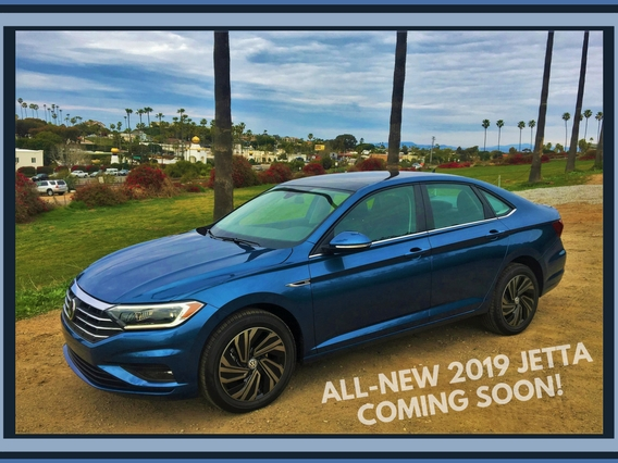 All-New 2019 Volkswagen Jetta Coming Soon!
