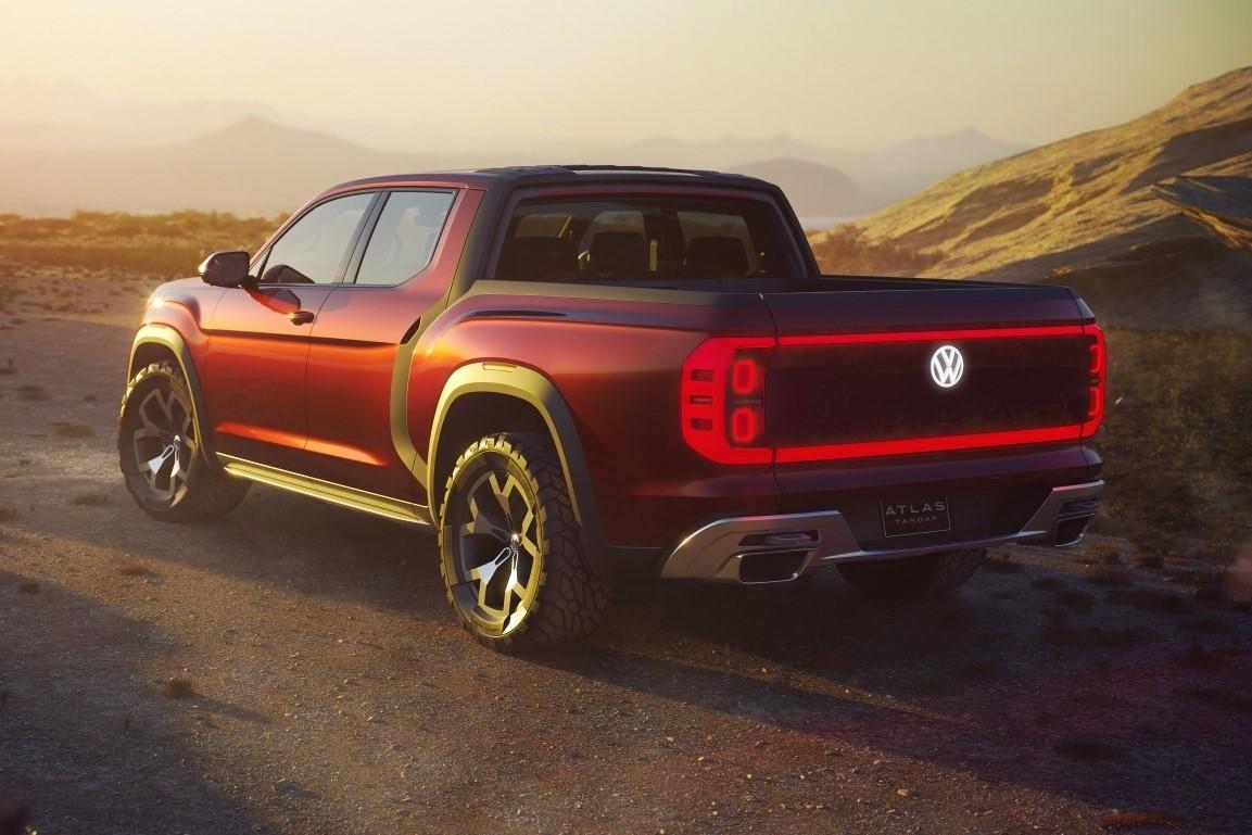 Atlas Tanoak Truck Concept Back