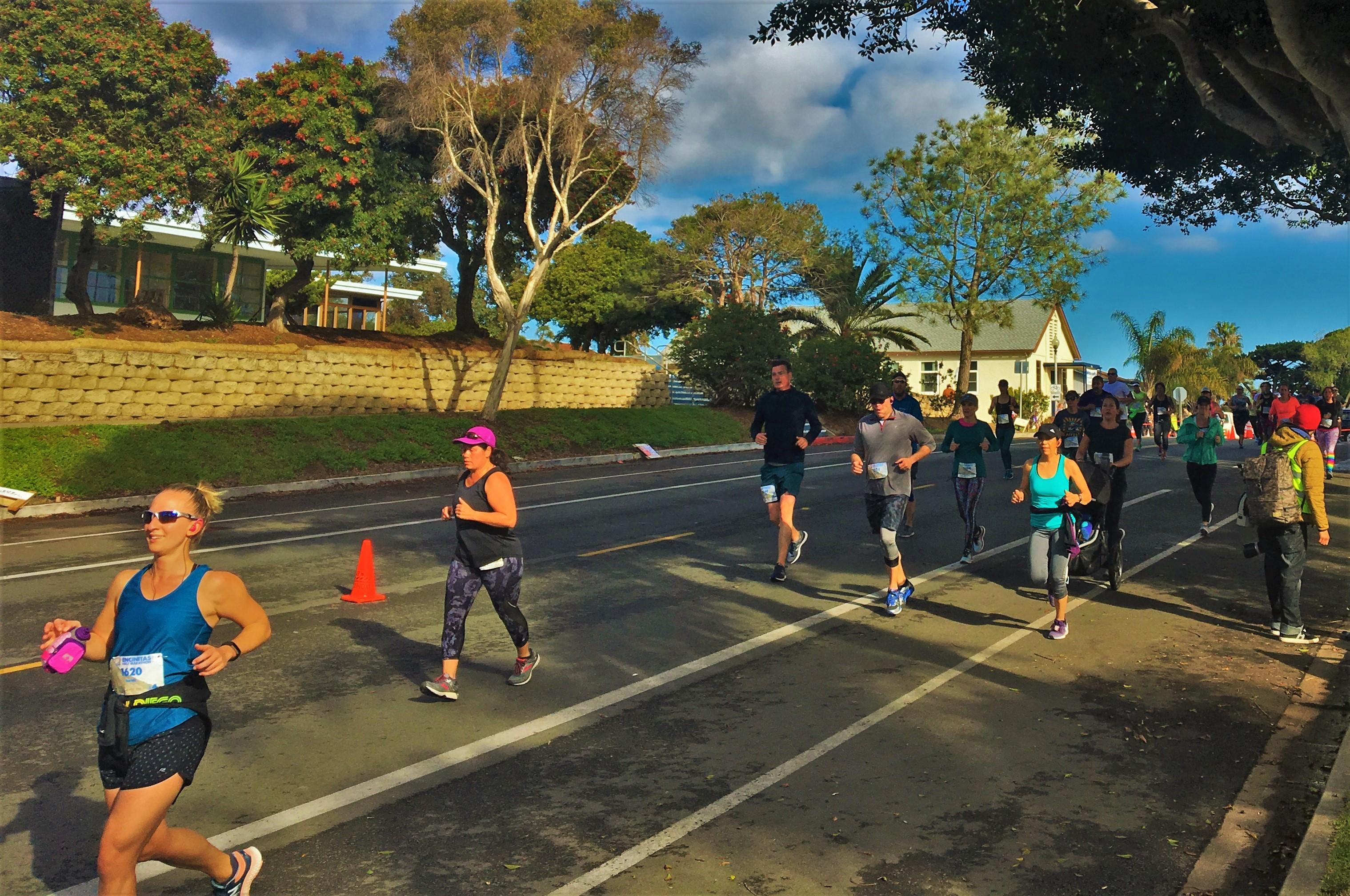 Encinitas Half Marathon Course
