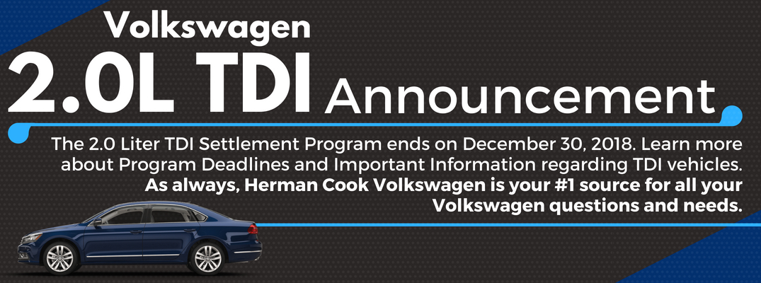 TDI Update Archives - Cook VW