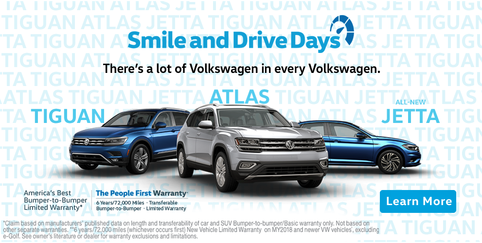 Volkswagen Smile and Drive Days
