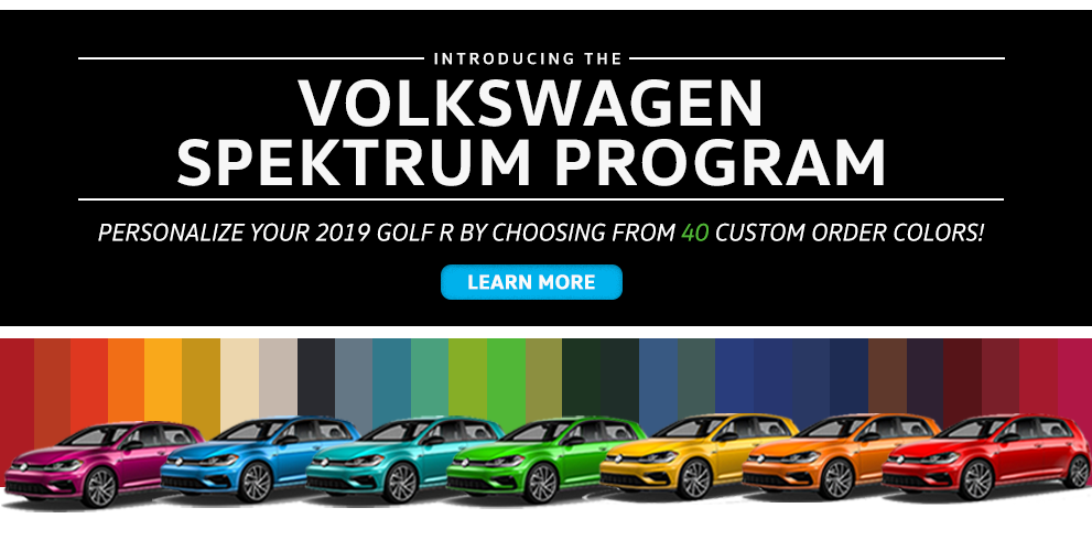 The Volkswagen Golf R Spektrum Program