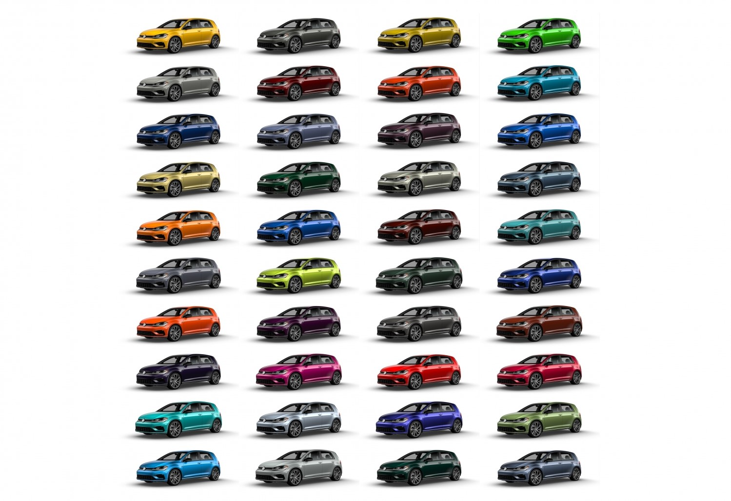 Golf R Spektrum Program 40 Colors