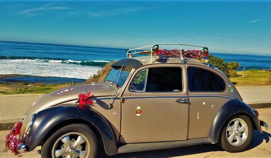 SD Vintage VW Christmas Cruise Coast