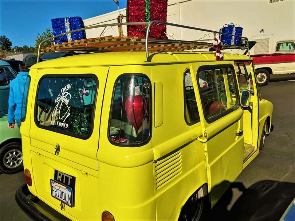 Festive VW's SD Air Cooled Cruise 2018