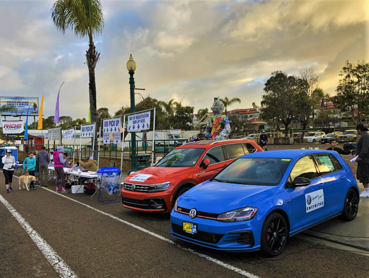 Herman Cook VW Pacer Cars at Cardiff Kook Run
