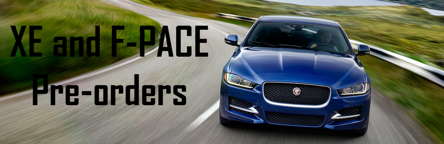 Jaguar XE and Jaguar F-PACE Pre-orders San Antonio TX