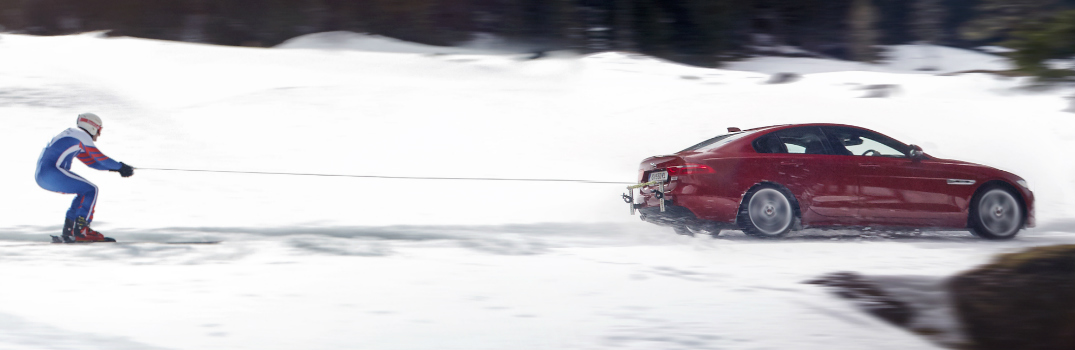 2017 Jaguar XE AWD and Graham Bell Fastest Man on Skis