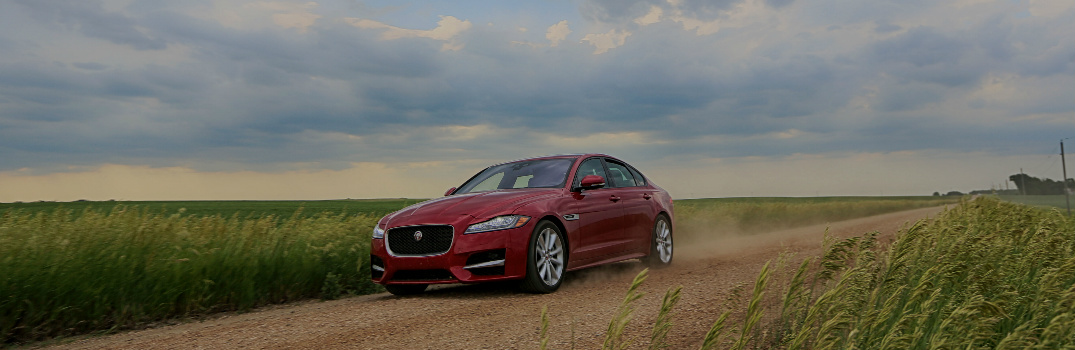 Expert Storm Chaser Takes Jaguar XF in Search of a Tornado