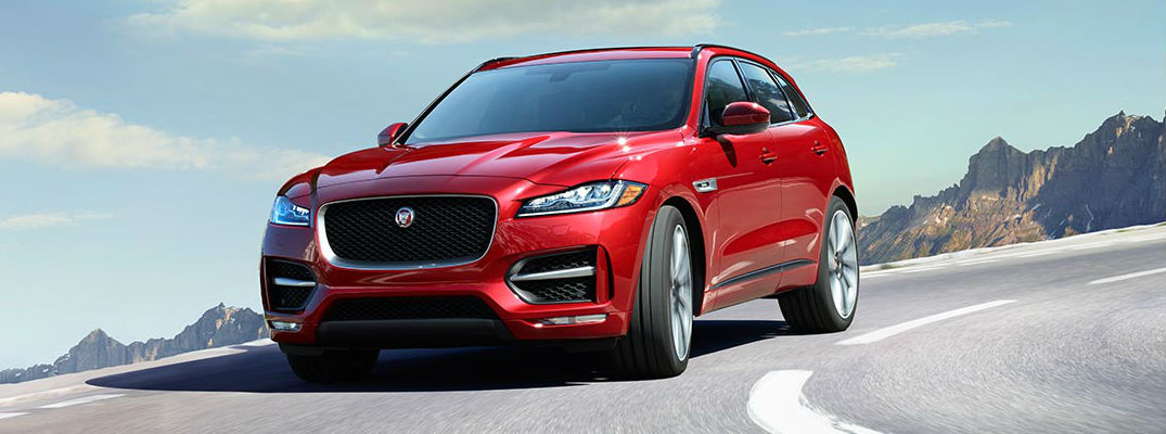 Jaguar F-PACE Upgrades Performance with All-New F-PACE SVR!