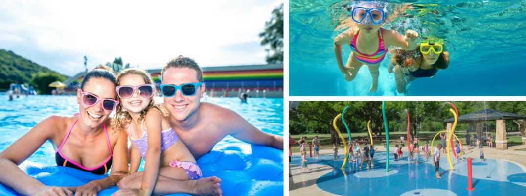 Find a Local Waterpark or Pool to Escape the Summer Heat in the San Antonio Area