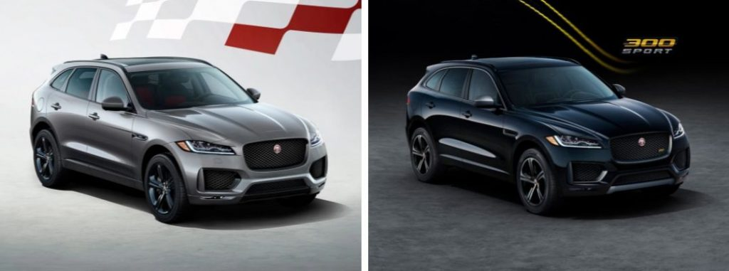 2020 jaguar f-pace checkered flag edition and 300 sport specs and features