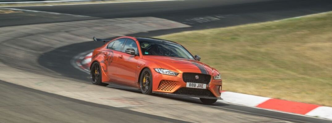 How Fast is the Track-Tuned Jaguar XE SV Project 8?