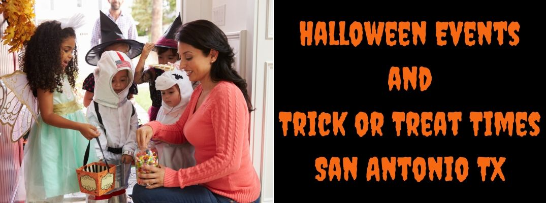 What Time Is Halloween Trick or Treating in the San Antonio Area?
